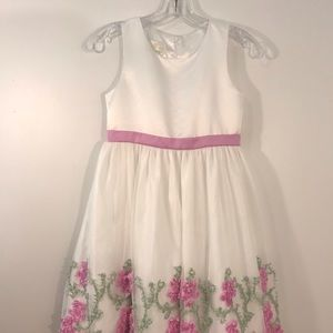 American Princess  Girl's Tulle Dress Size 10